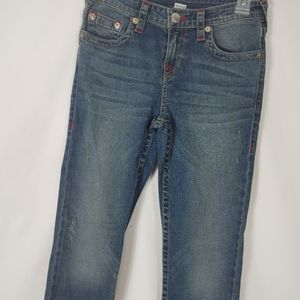 True Religion Women's Size 12 OM S.E. Straight Jea